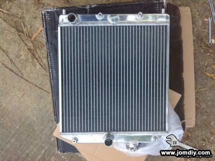 new radiator all alluminium