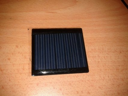 solar cell front